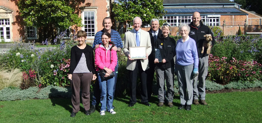South Hill Park blooms with gold award