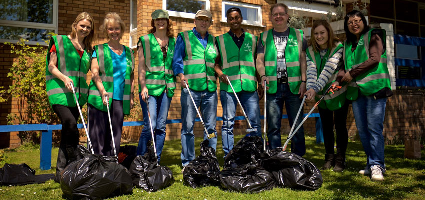 Litter pickers needed to Clean for The Queen
