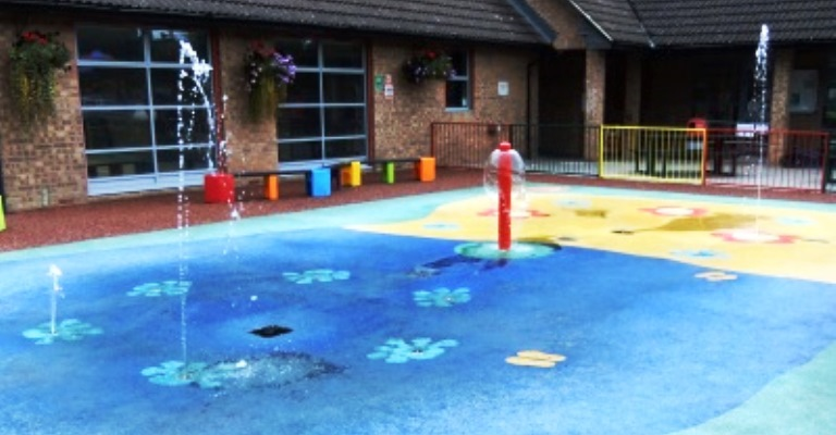 Splash Pad and Paddling Pool