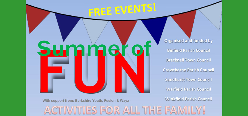Summer of Fun 2016 – FREE events with activities for all the family!