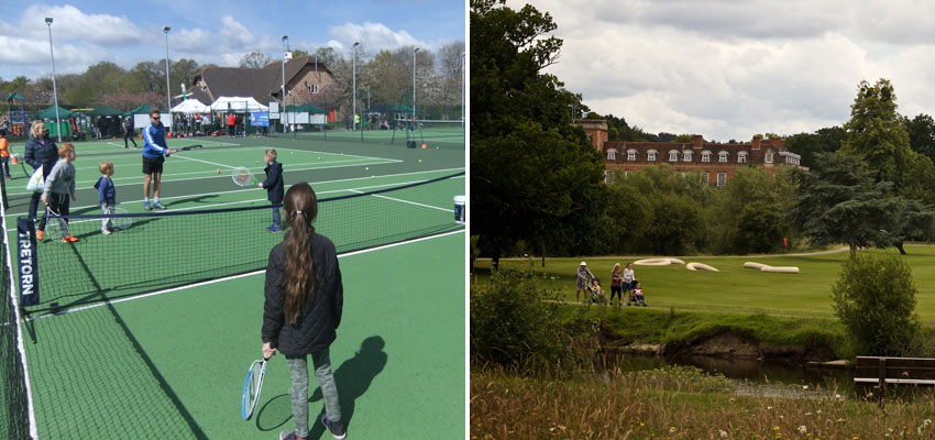 Jocks Lane Park and South Hill Park retain their Green Flags