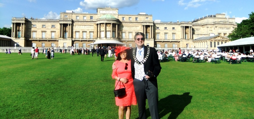Mayor and Mayoress at Buckingham Palace