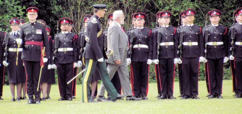 Sandhurst Freedom March