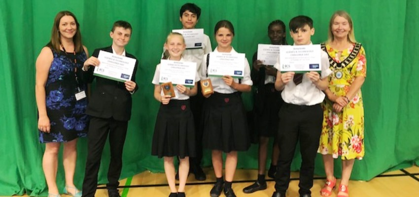 Brakenhale Pupils Participate in Gifted and Talented Science and Technology Day