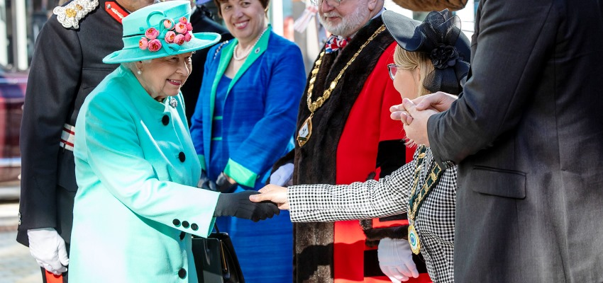 HM The Queen Visits The Lexicon