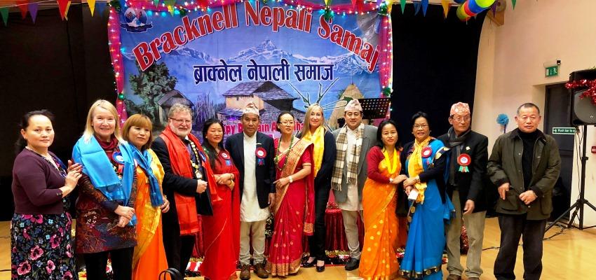 Celebration of Dashain and Tihar