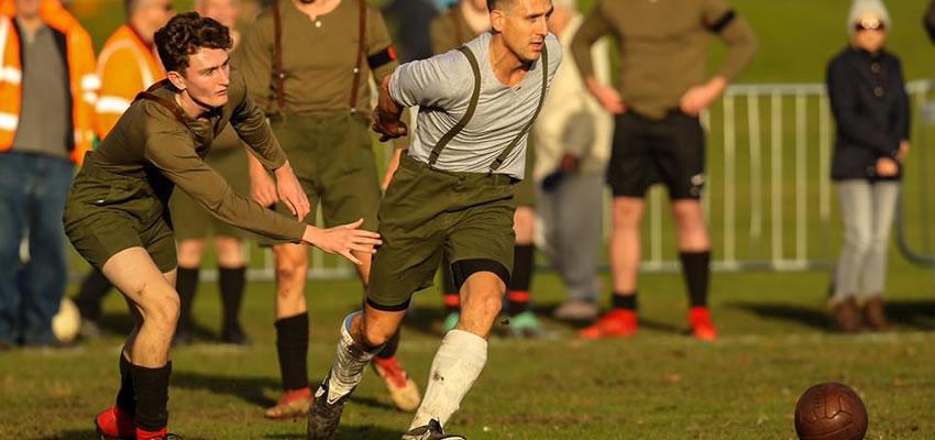 WW1 Truce Football Match