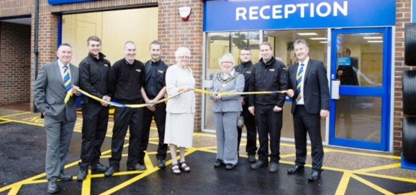Re-opening of Kwik-fit