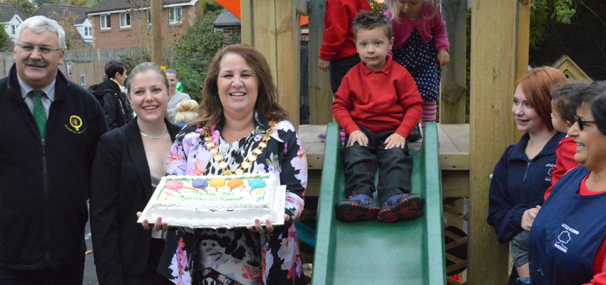 Little Acorns Nursery Gets New Play Equipment