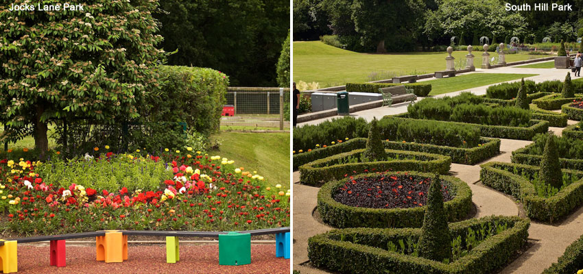 Thames and Chilterns in Bloom Parks Judging 2016