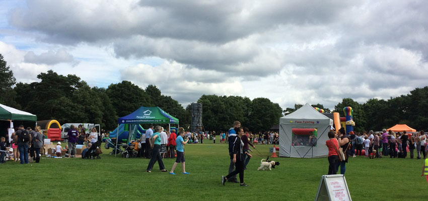 Summer of Fun 2016 at Great Hollands Recreation Ground