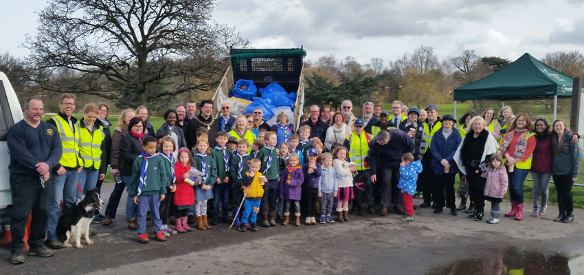 Bracknell's Great British Spring Clean
