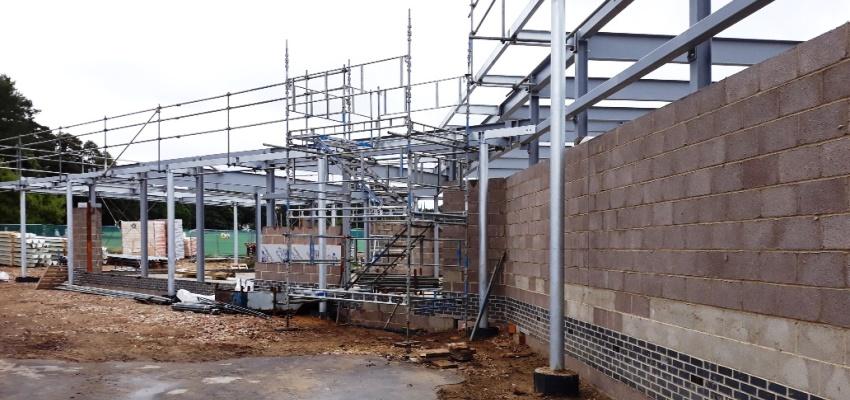 Great Hollands Pavilion Rebuild Update