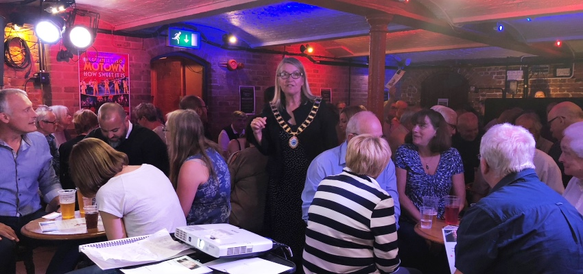 Mayor's Charity Quiz at South Hill Park (SHP) is a Sell Out!