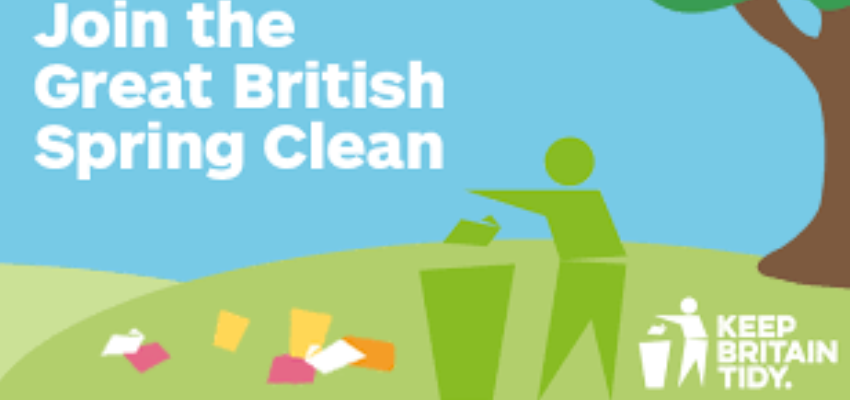 The Great British Spring Clean 23rd March 2019