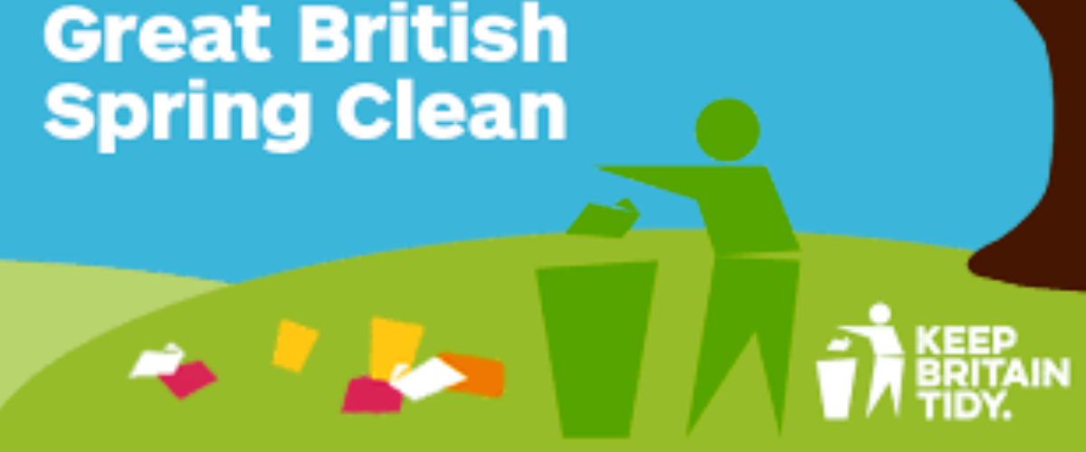 Great British Spring Clean 26th September