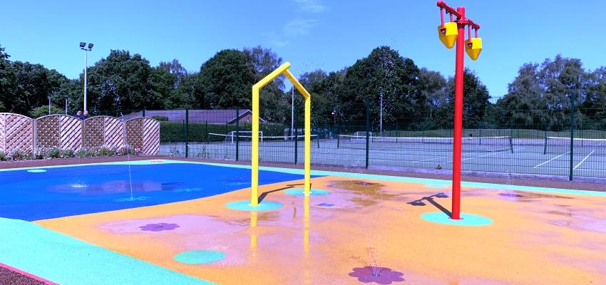 Great Hollands Splash Pad NOW OPEN