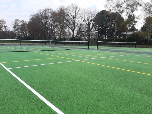 Great Hollands Tennis Courts Open